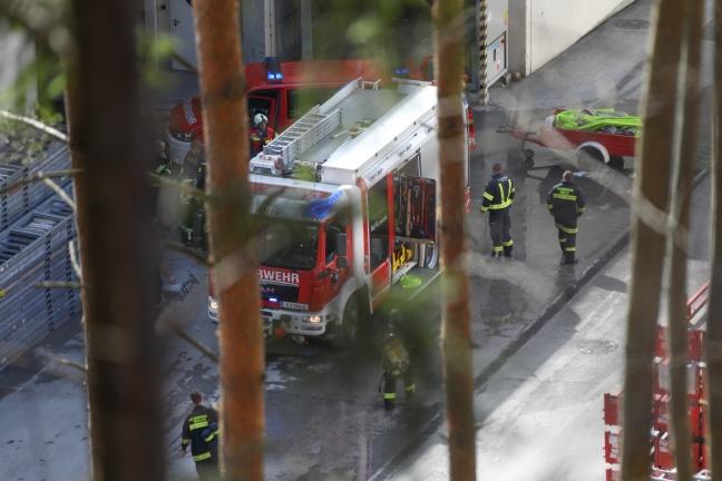 Brand in einem Gewerbebetrieb in Molln