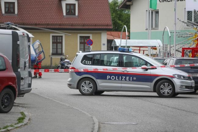 Tödlicher Arbeitsunfall in Kirchdorf an der Krems