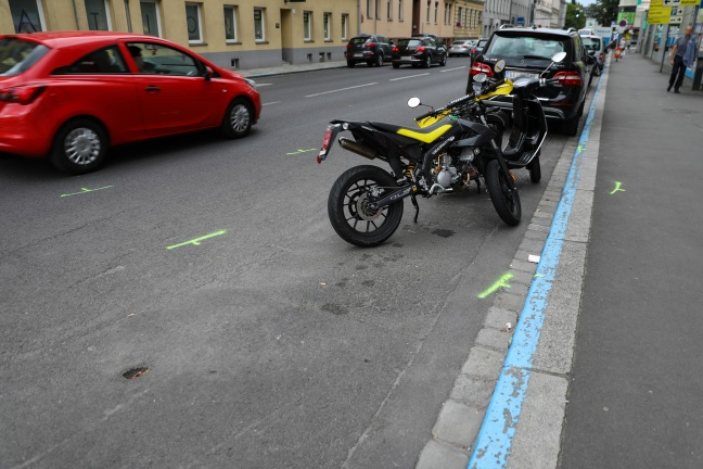 Pensionist (79) nach Unfall mit Alkolenker in Linz-Innere Stadt im Krankenhaus verstorben