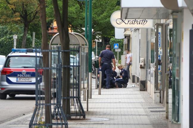 Versuchter Raubüberfall auf Juwelier in Wels-Innenstadt