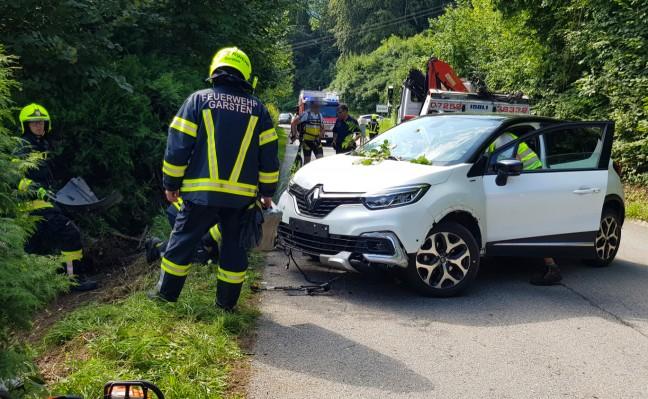 PKW-Lenker in Garsten nach Unfall durch internen Notfall verstorben