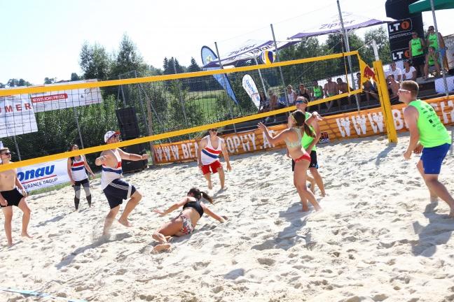 BeachTrophy in St. Marienkirchen an der Polsenz mit Mostfassl Cup eröffnet