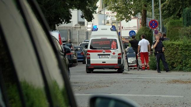 Hausbewohner (45) bei Sturz aus Fenster in Steyr-Tabor schwer verletzt