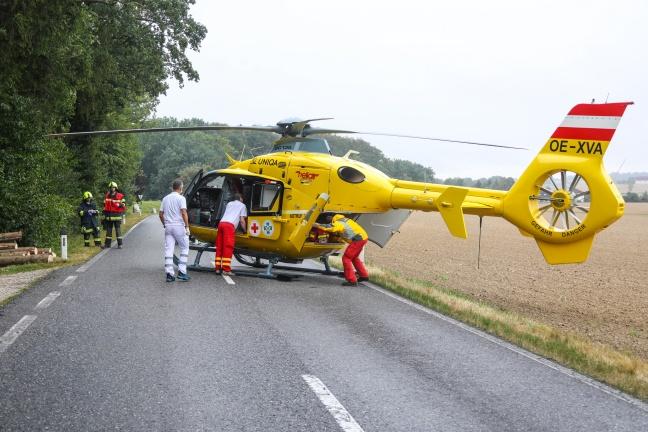 Schwerer Forstunfall in Kremsmünster
