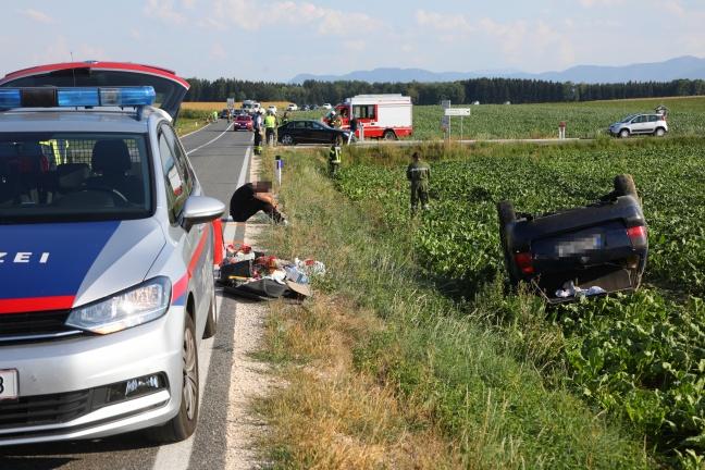 Tödlicher Verkehrsunfall in Schiedlberg