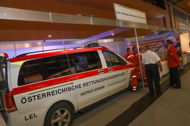 Messe Retter 2018 durch Innenminister Herbert Kickl (FPÖ) offiziell eröffnet