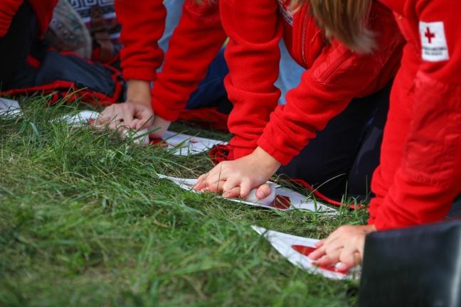 5.500 Menschen bei Weltrekordversuch im Reanimationstraining in Wels