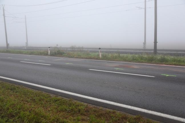 Stauchaos nach Crash mit drei Fahrzeugen in Alkoven