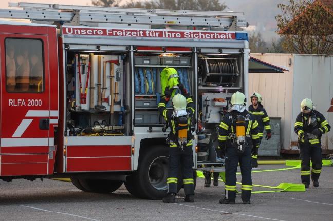 Discothek Go-In diente als besondere Übungslocation für neun Feuerwehren