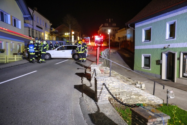 Verkehrsunfall in Ottnang am Hausruck endet glimpflich
