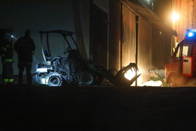 Sechs Feuerwehren bei Brand auf Bauernhof in St. Aegidi im Einsatz