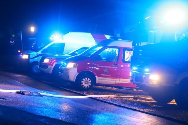 Schwieriger Einsatz bei gemeldeter Personenrettung in Sipbachzell