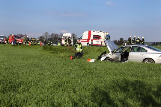 Tödlicher Verkehrsunfall auf Großendorfer Straße in Eberstalzell