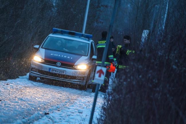 Leblosen Mann in Thalheim bei Wels aus der Traun geborgen