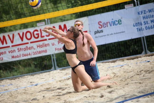Toller Abschluss der Beachtrophy in St. Marienkirchen an der Polsenz
