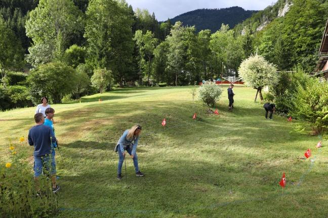 """71 sportliche Teilnehmerinnen und Teilnehmer bei """"Grünau golft ..."""" in Grünau im Almtal"""
