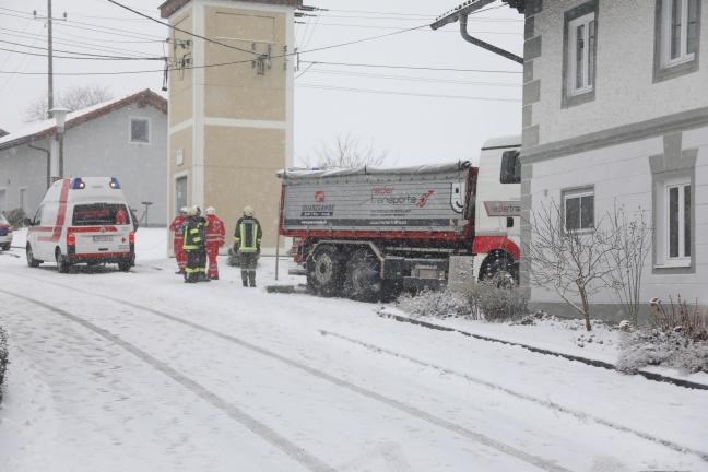 LKW-Unfall in Natternbach endet tödlich