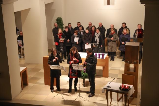 Besinnliches Weihnachtssingen in der Pfarrkirche in Krenglbach