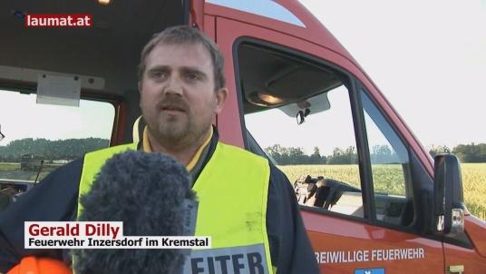 Gerald Dilly, Feuerwehr Inzersdorf im Kremstal