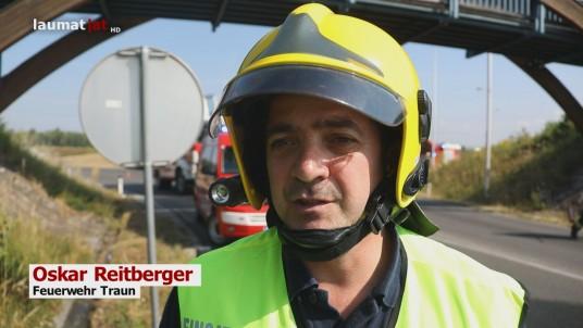 Oskar Reitberger, Feuerwehr Traun