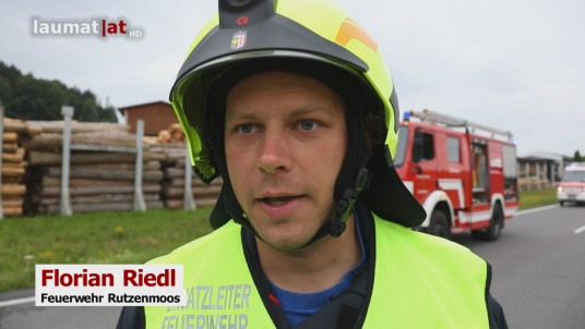 Florian Riedl, Feuerwehr Rutzenmoos
