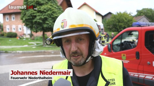 Johannes Niedermair, Feuerwehr Niederthalheim