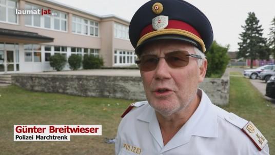 Günter Breitwieser, Polizei Marchtrenk