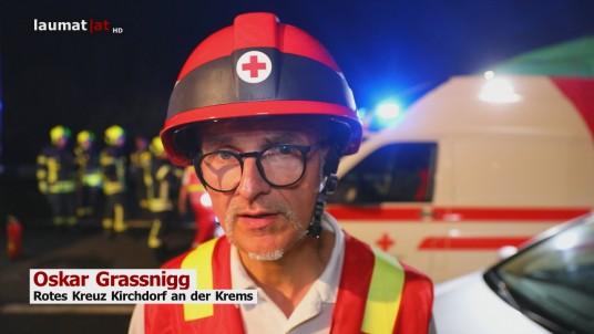 Oskar Grassnigg, Rotes Kreuz Kirchdorf an der Krems