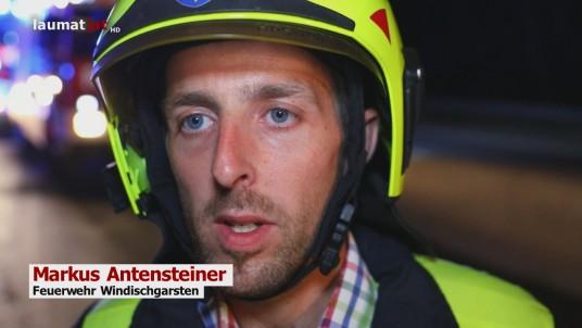 Markus Antensteiner, Feuerwehr Windischgarsten