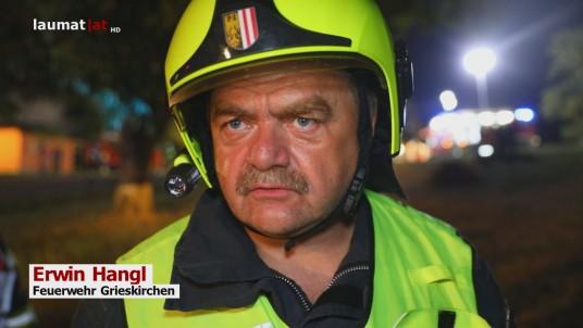 Erwin Hangl, Feuerwehr Grieskirchen