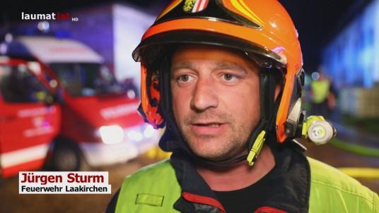 Jürgen Sturm, Feuerwehr Laakirchen