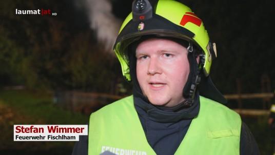Stefan Wimmer, Feuerwehr Fischlham