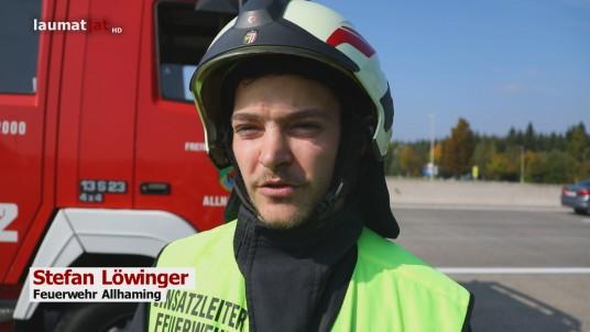 Stefan Löwinger, Feuerwehr Allhaming