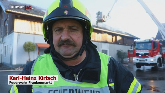 Karl-Heinz Kirtsch, Feuerwehr Frankenmarkt