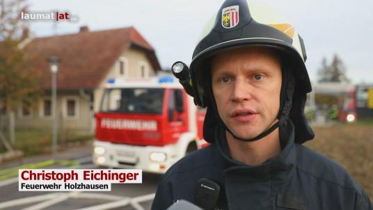Christoph Eichinger, Feuerwehr Holzhausen