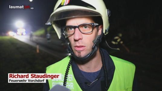 Richard Staudinger, Feuerwehr Vorchdorf