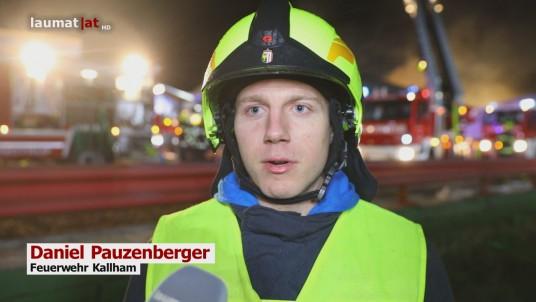 Daniel Pauzenberger, Feuerwehr Kallham