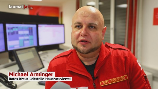 Michael Arminger, Rotes Kreuz Leitstelle Hausruckviertel