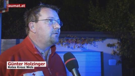 Günter Holzinger, Rotes Kreuz Wels