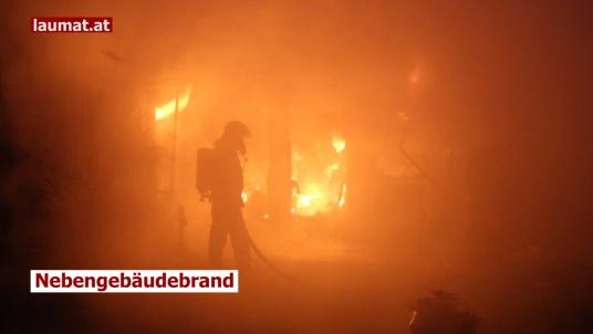 Nebengebäudebrand