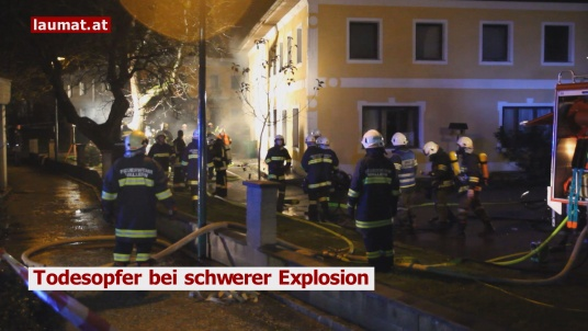 Todesopfer bei schwerer Explosion