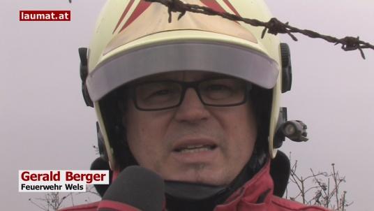 Gerald Berger, Feuerwehr Wels