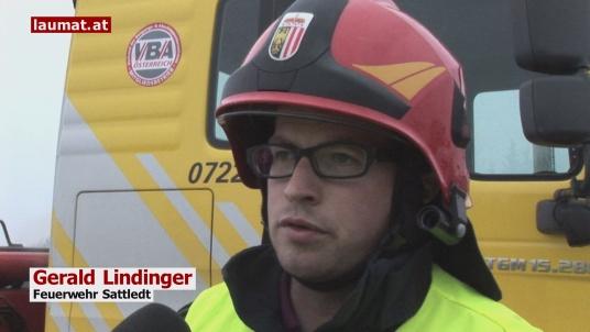 Gerald Lindinger, Feuerwehr Sattledt