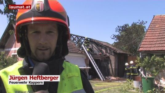 Jürgen Heftberger, Feuerwehr Kappern