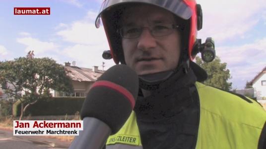 Jan Ackermann, Feuerwehr Marchtrenk
