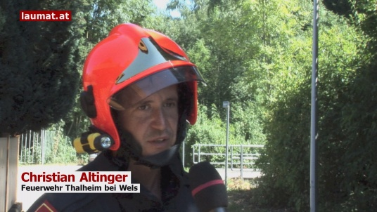 Christian Altinger, Feuerwehr Thalheim bei Wels