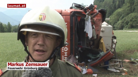 Markus Zemsauer, Feuerwehr Grünburg