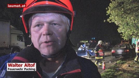 Walter Altof, Feuerwehr Pucking