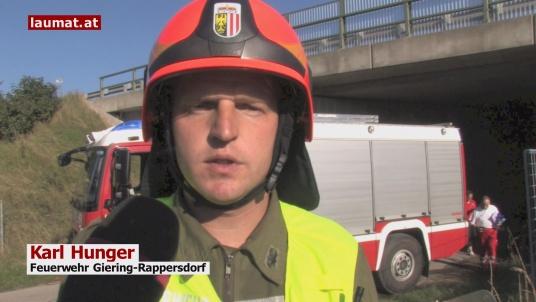 Karl Hunger, Feuerwehr Giering-Rappersdorf