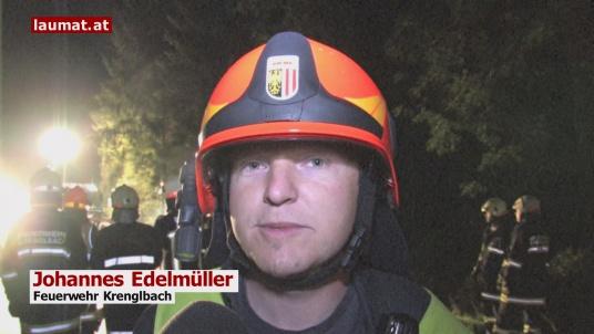 Johannes Edelmüller, Feuerwehr Krenglbach